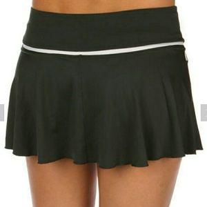 Nike Dri-Fit Flounce Knit Tennis Skirt Size Large